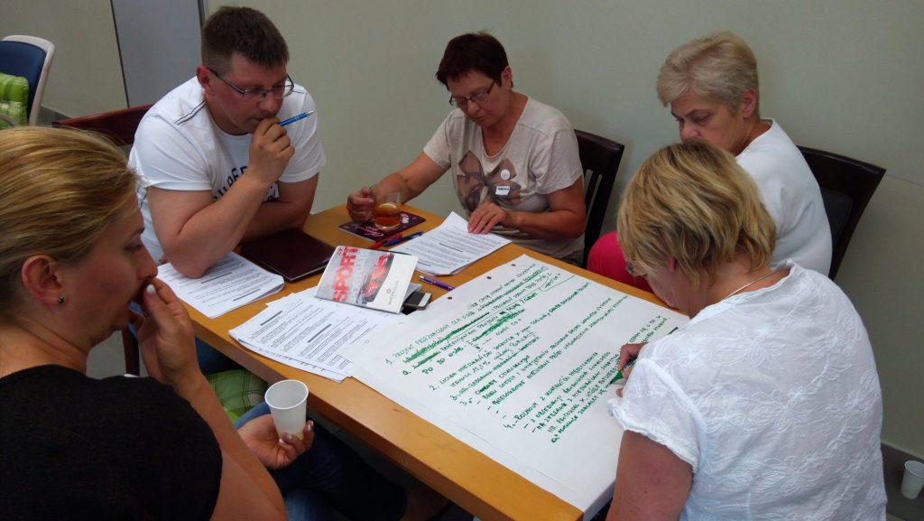 Warsztat Projekty i partnerstwa w Łowiczu