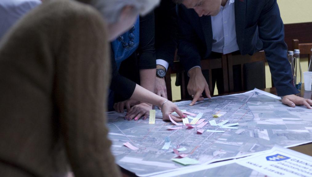 Konsultacje w Łomazach - Nasza Przestrzeń II